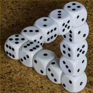 impossible-triangle-with-dice