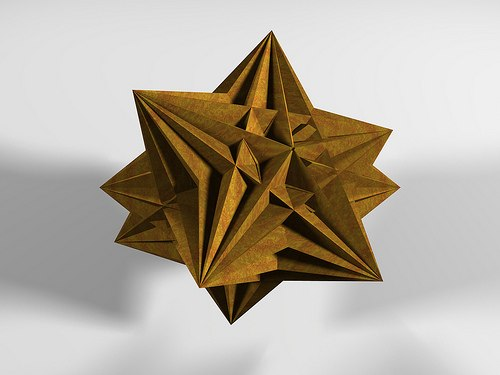 Origami Art 3d Shapes Life Through A Mathematicians Eyes