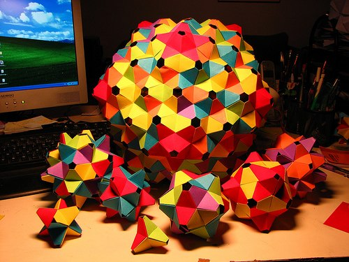 Origami Art Amp 3d Shapes Life Through A Mathematician S Eyes
