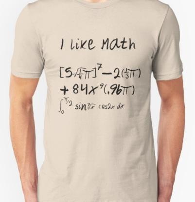 I like math